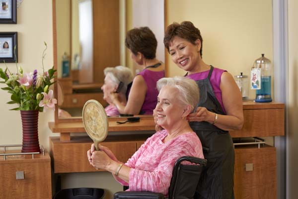 Professional Salon at Extended Care