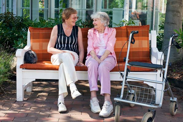 Patients on a Park Bench